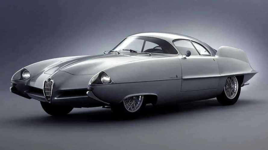 Alfa Romeo B.A.T. 9 by Bertone (1955)