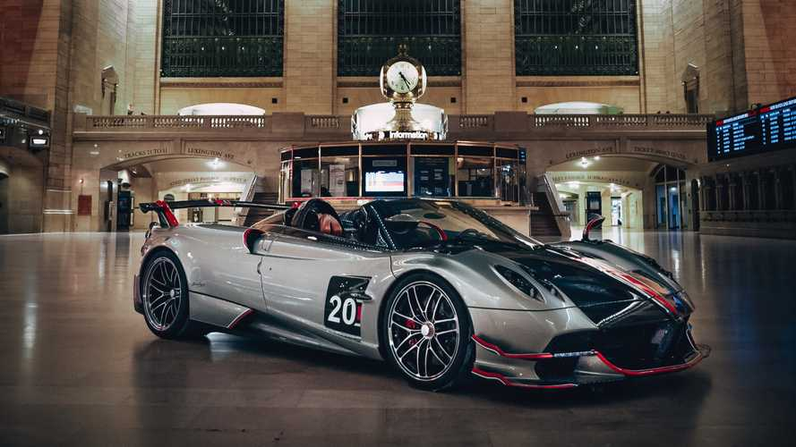 Pagani takes over Grand Central Terminal