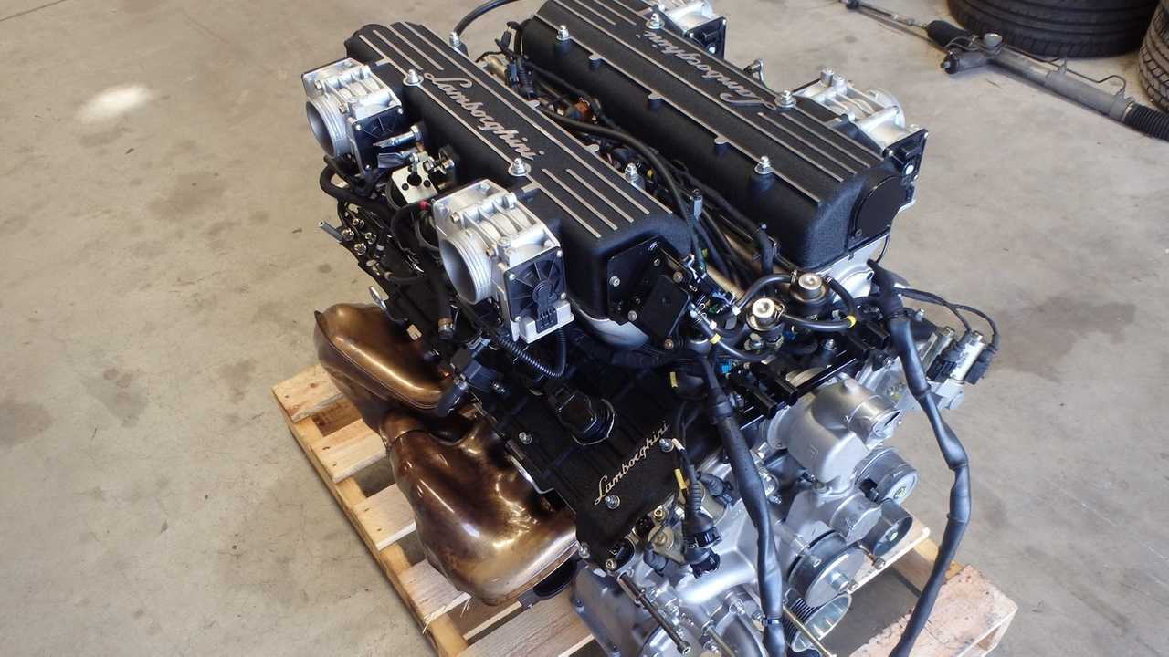 Lamborghini Murcielago V12 Engine Pops Up On Ebay For $31,000