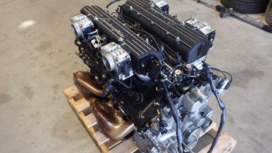 Ce moteur V12 d'origine Lamborghini est à vendre !