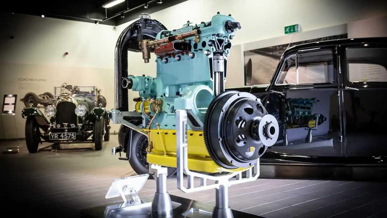 Bentley: восстановленный двигатель 1923 года