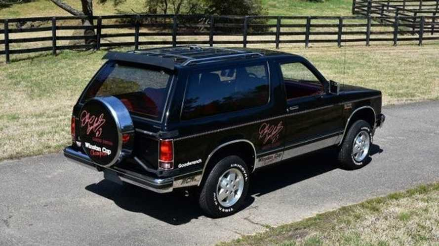 Be The Ultimate Dale Earnhardt Fan In This 1988 Chevrolet Blazer