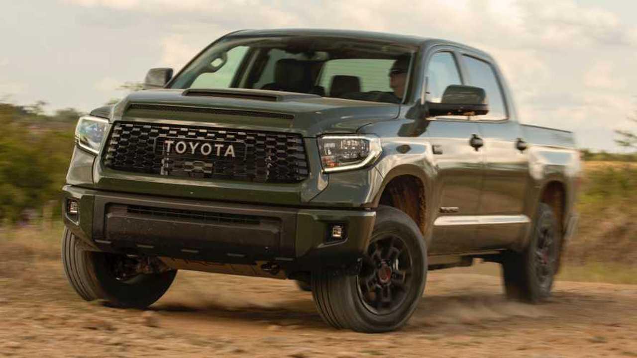 2020 Toyota Tundra TRD Pro: Comparison