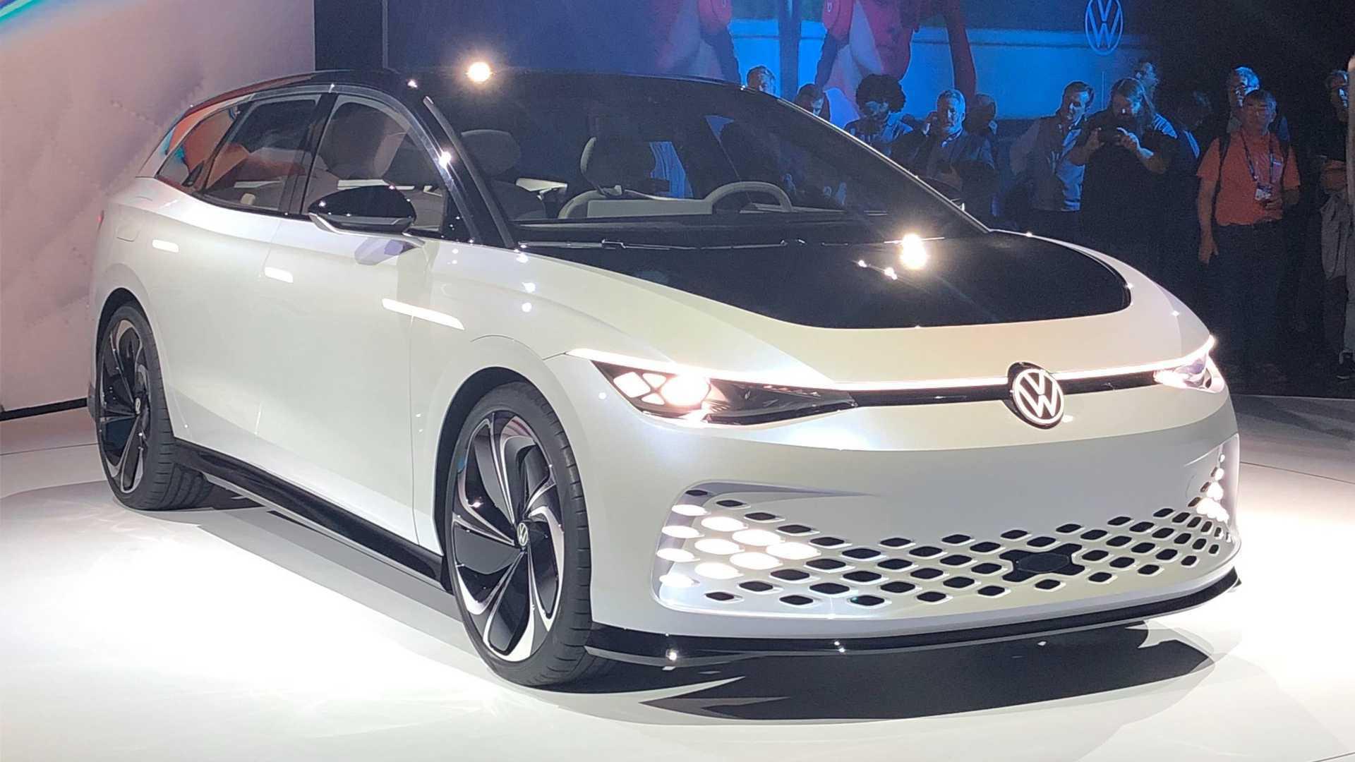 VW ID. Space Vizzion antecipa perua elétrica com 560 km de autonomia