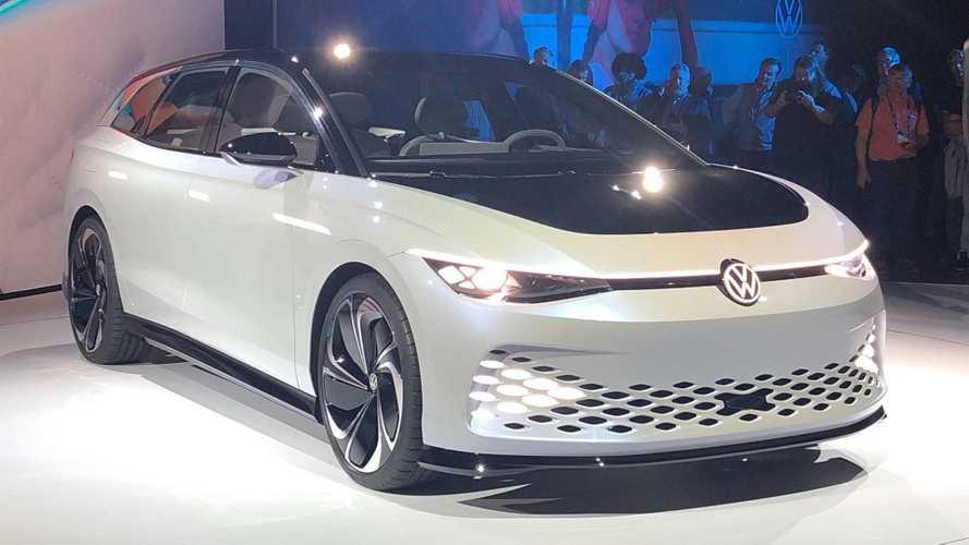 Volkswagen ID. Space Vizzion Concept - Fotos ao vivo