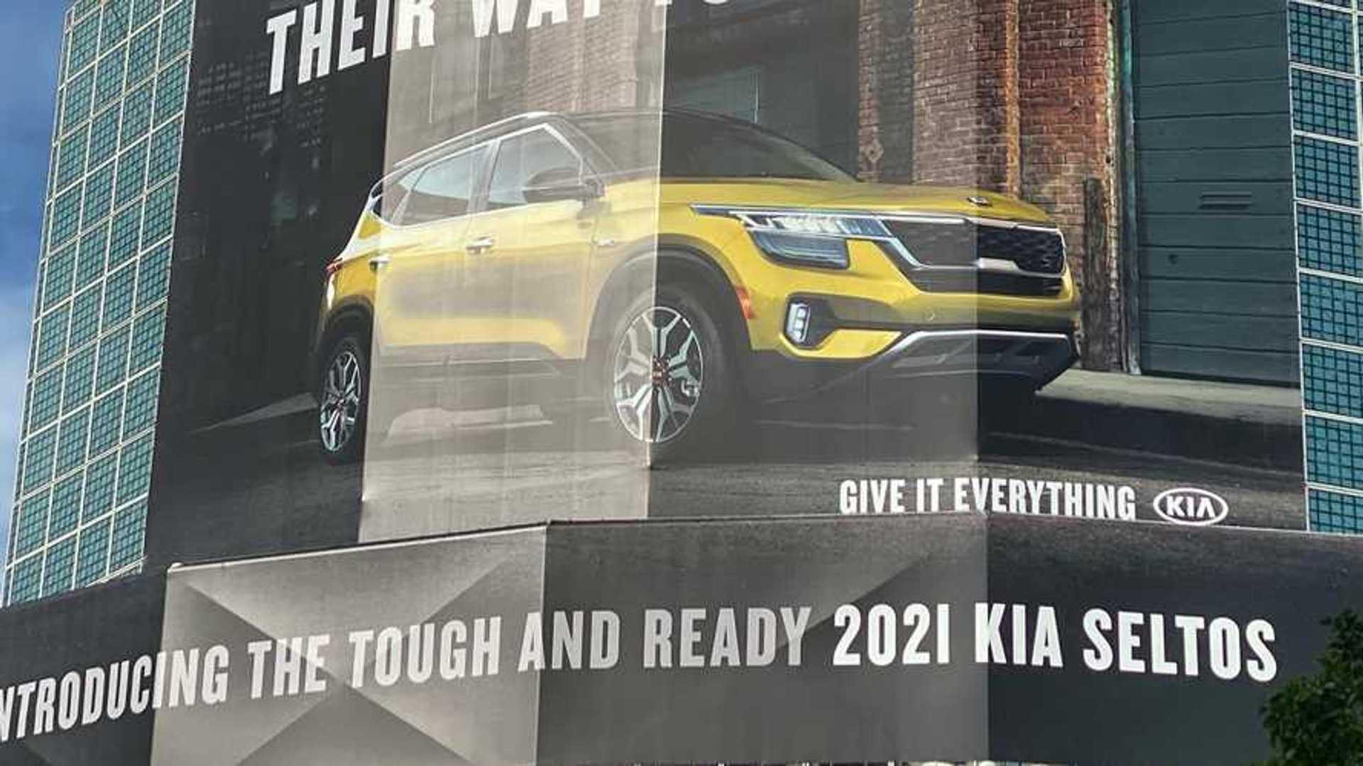 2021 Kia Seltos Leaked Ahead Of U.S. Debut In Big Way, Literally