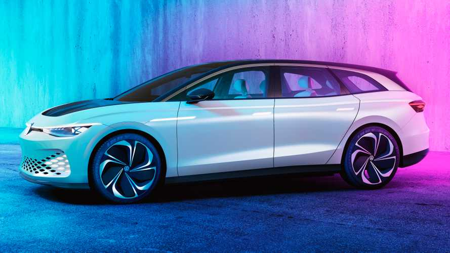 Volkswagen ID Space Vizzion Concept previews future EV estate