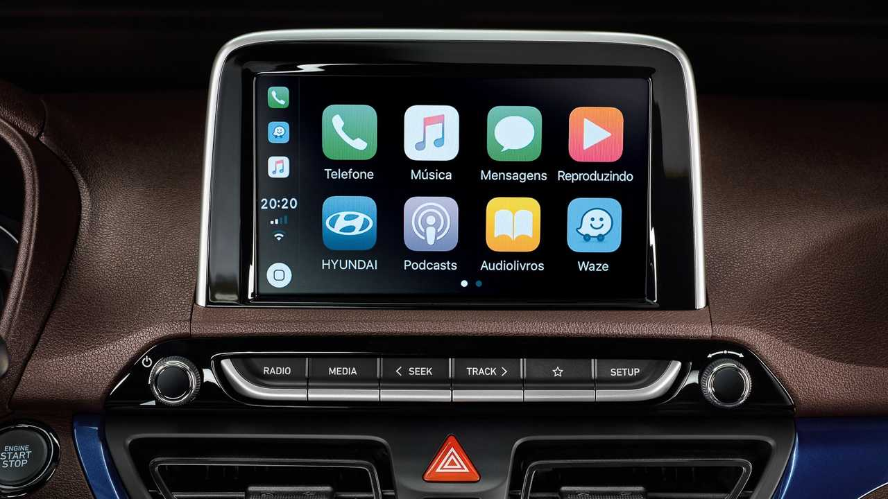 Apple CarPlay - HB20 2020