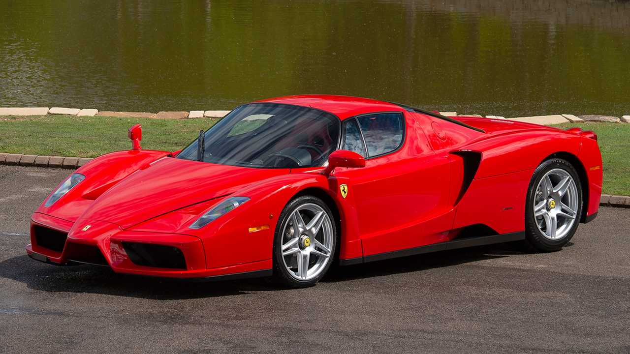 Enzo Ferrari driven by Michael Schumacher for sale