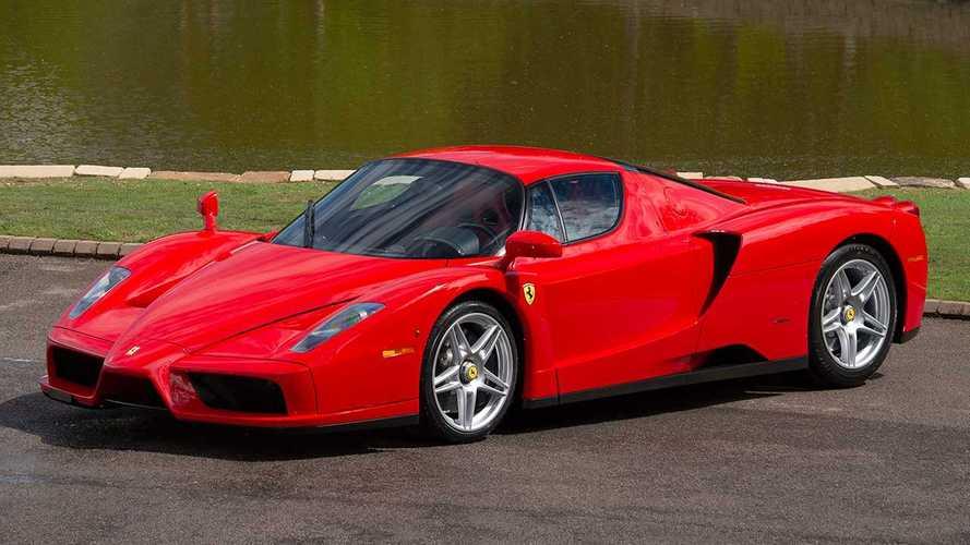 A la venta un Ferrari Enzo que condujo Michael Schumacher