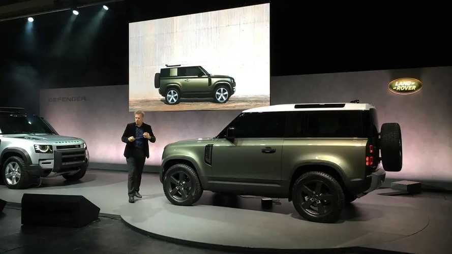 Новый Land Rover Defender: живые фото