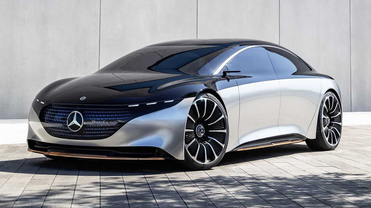 Mercedes-AMG EQS Electric Performance Sedan Coming With ...