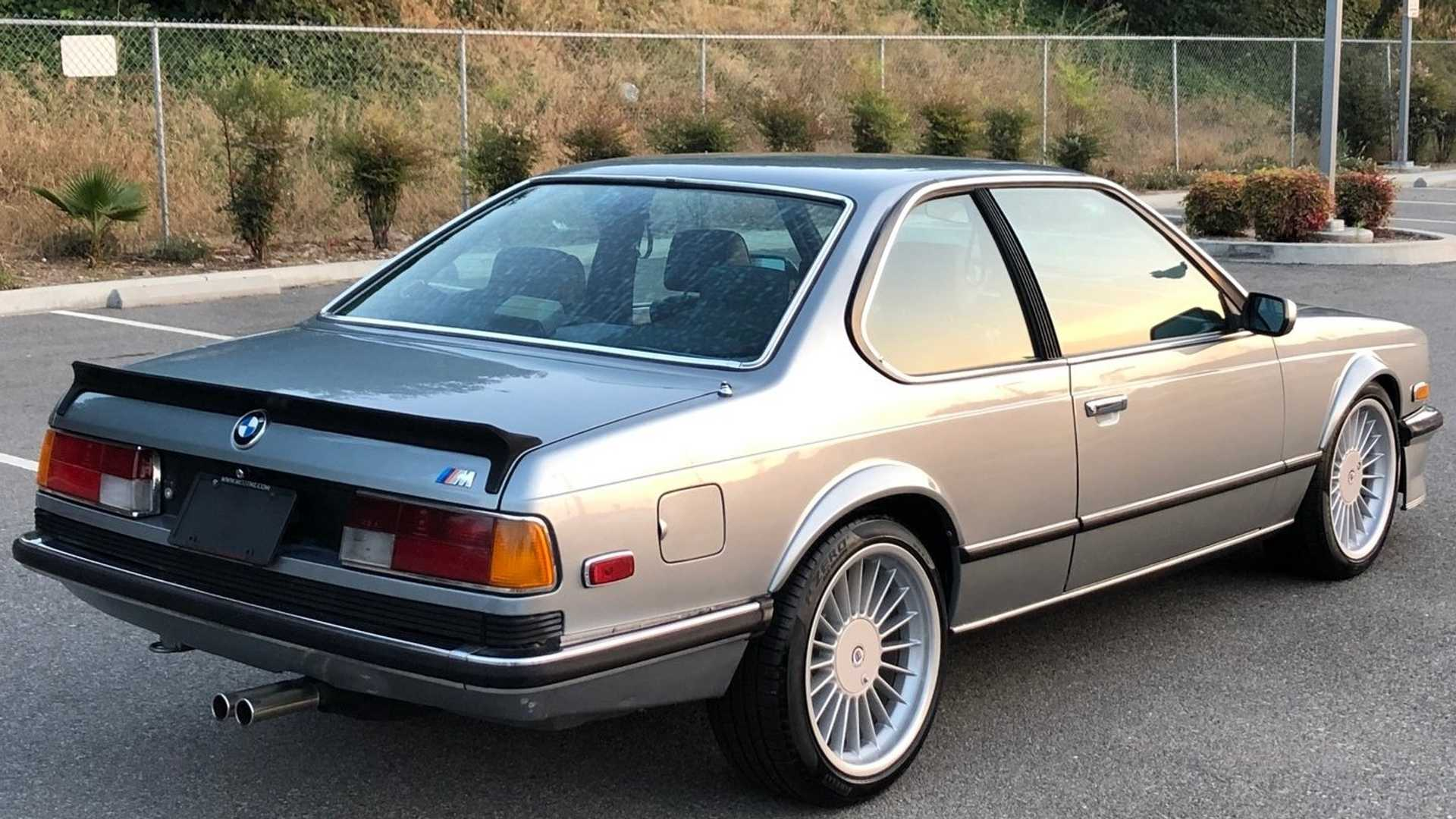 "[""Own This Meticulously Maintained 1985 BMW M6 Euro""]"