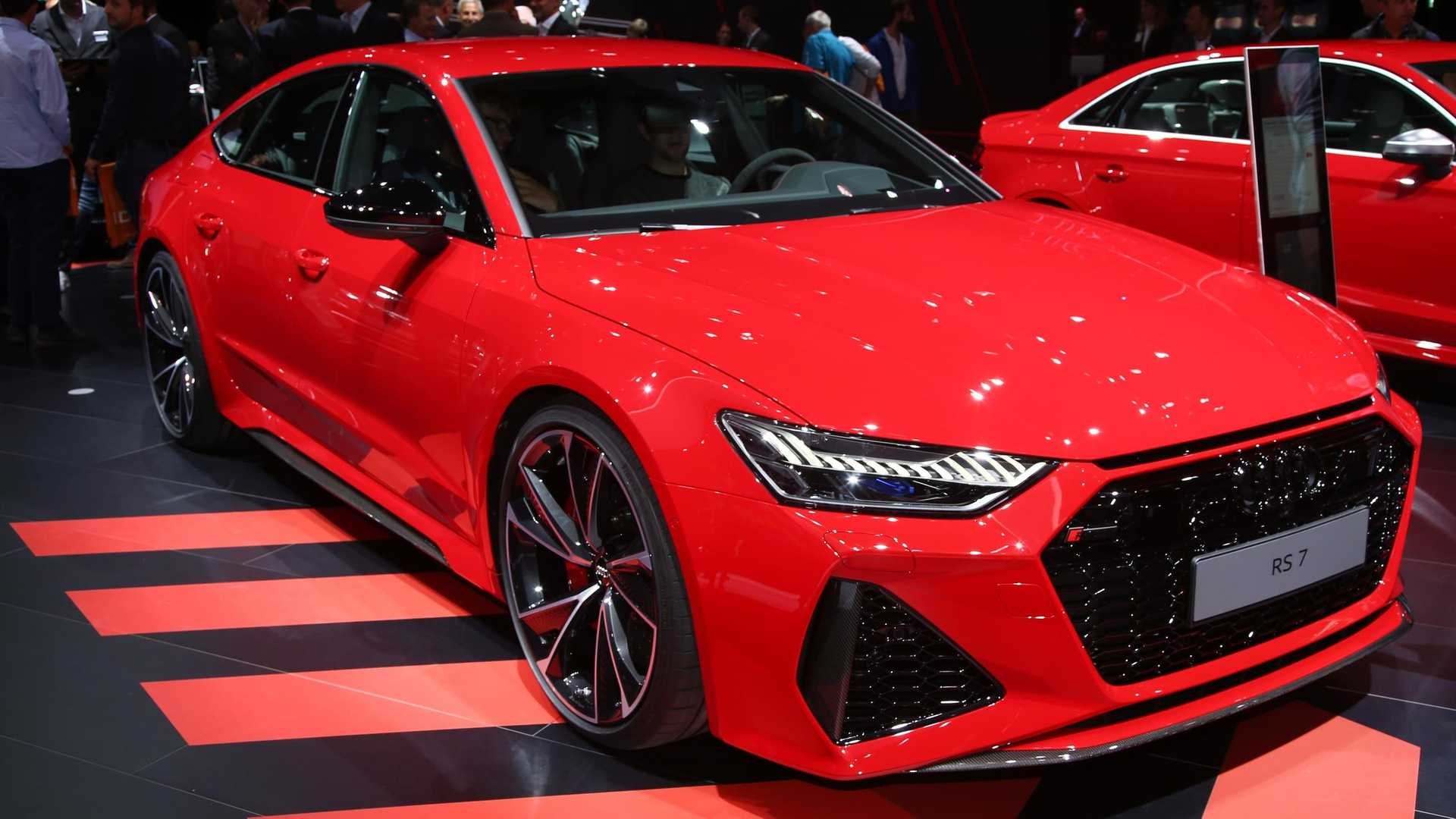 Audi Rs7 Sportback Debuts With 591 Hp Sultry Styling
