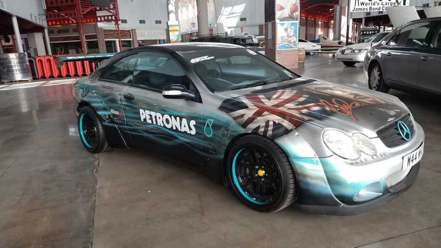 Be The Ultimate Lewis Hamilton Fan In This 2002 Mercedes CLK