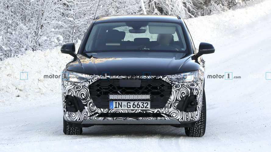 Рестайлинг Audi Q5: новые шпионские фото