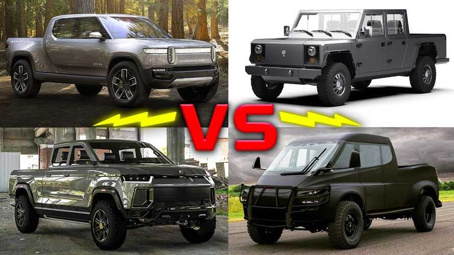 This Video Proposes To Compare All Future U.S. Electric Pickup Trucks