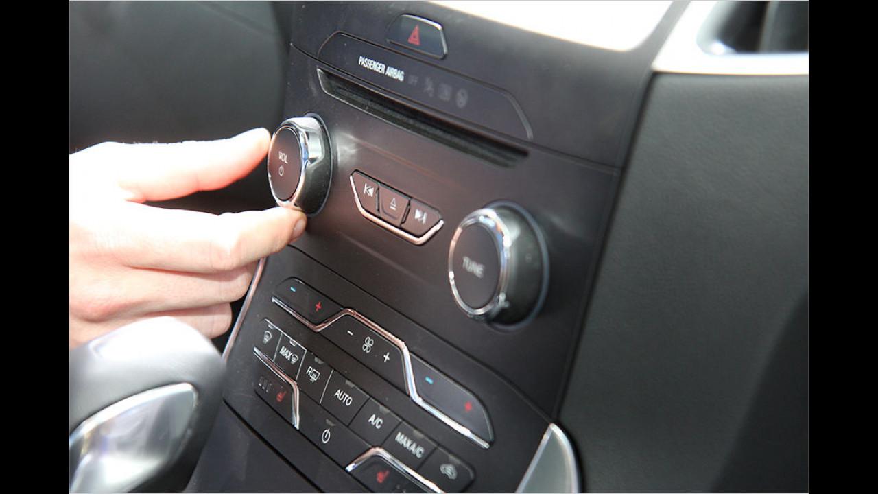 Sitzprobe Ford S-Max
