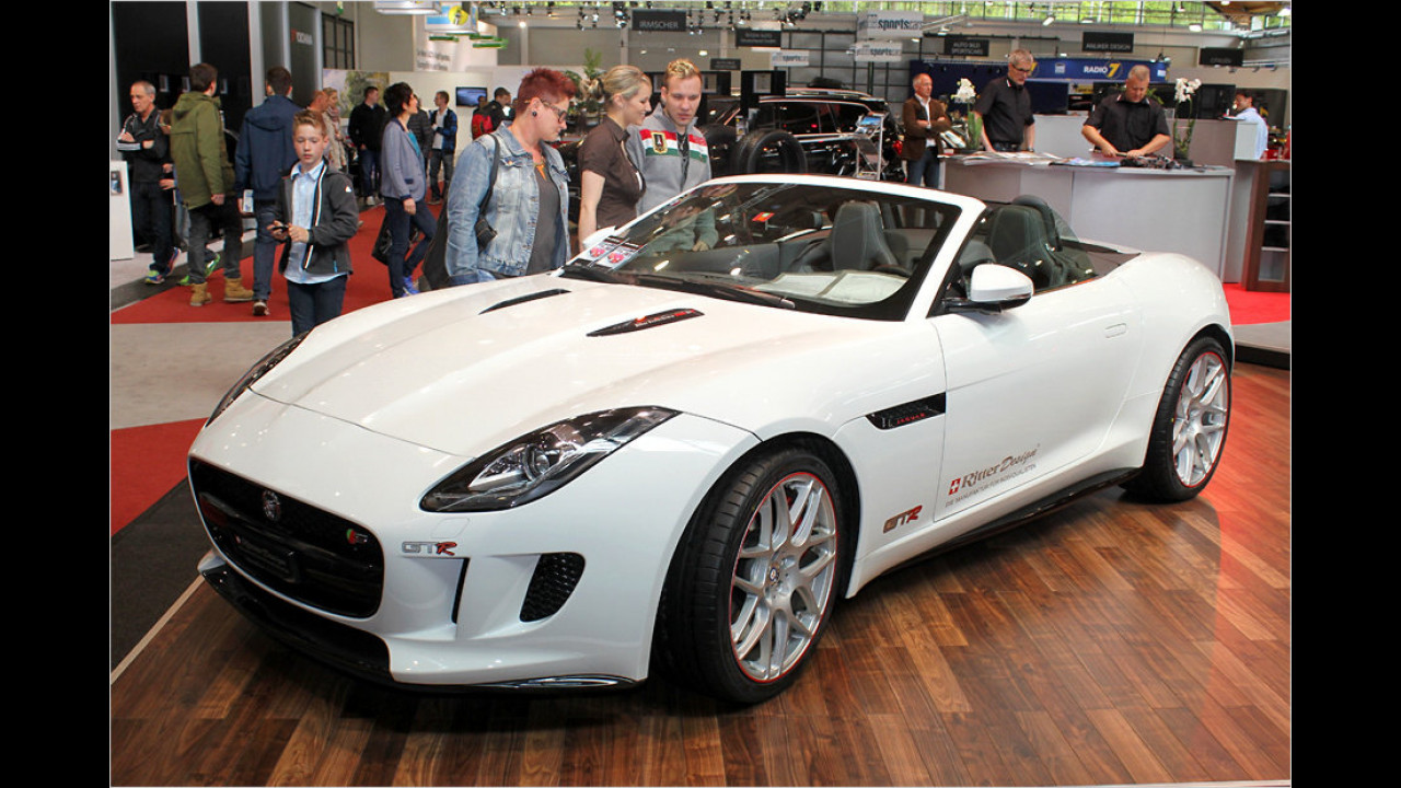 Jaguar F-Type Ritter-Performance R-400 GTR Abstracta