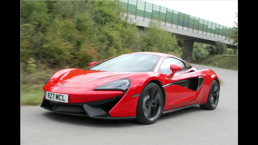 McLarens neues Basismodell 540C im Test