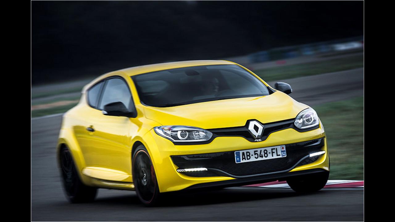 4. Platz: Renault Mégane R.S.