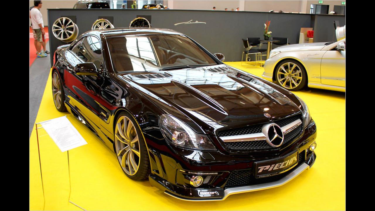 Mercedes SL: Von Piecha gibts ein feines Bodykit