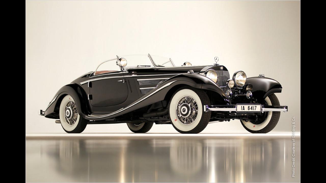 Platz 1: Mercedes-Benz 540K Spezial Roadster, Baujahr 1936