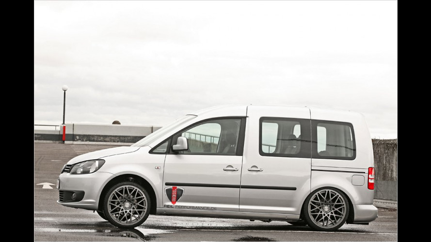MR Car Design VW Caddy: Lieferwagen mit Luftfederung
