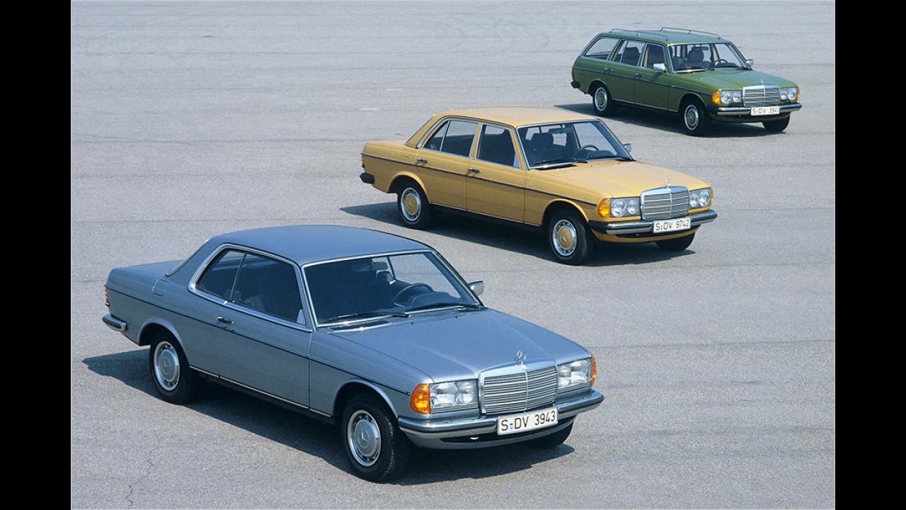 40 Jahre Mercedes W 123