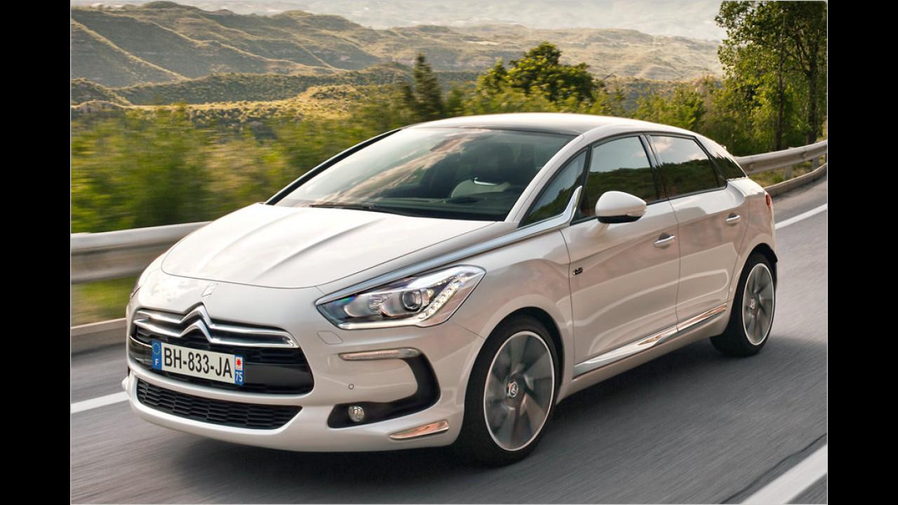 Geteilter Platz 9: Citroën DS5 Hybrid4