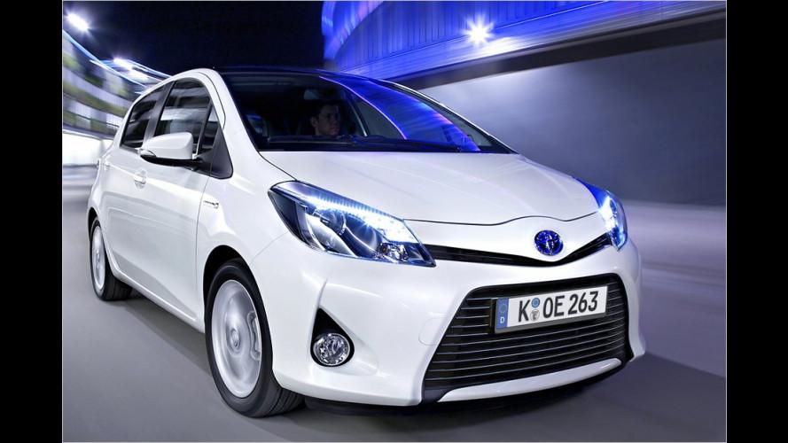 Toyota Yaris Hybrid im Test