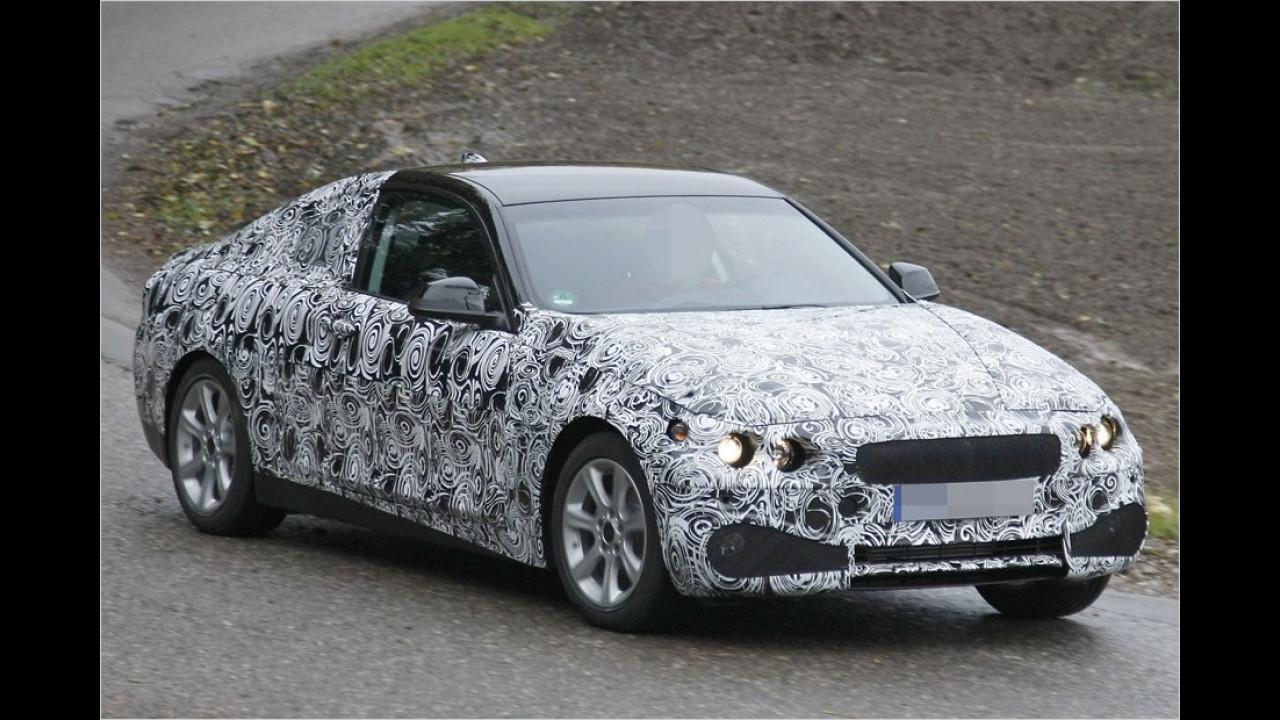 Erwischt: BMW 4er Coupé