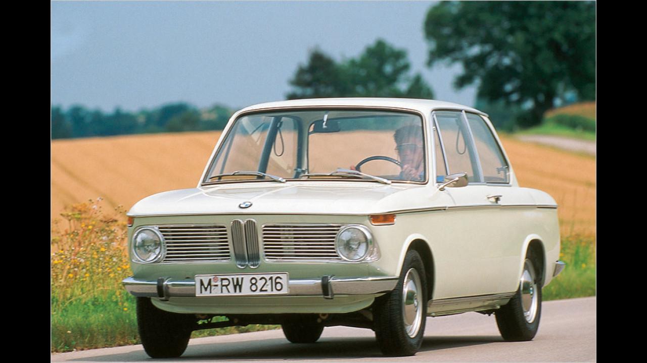 7. März 1966: BMW 1600 als Zweitürer
