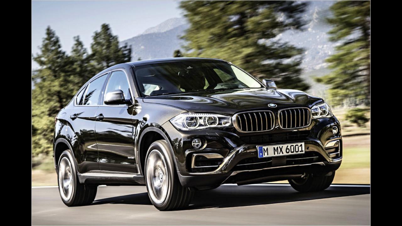 Platz zwei: BMW X6 XDrive 40D