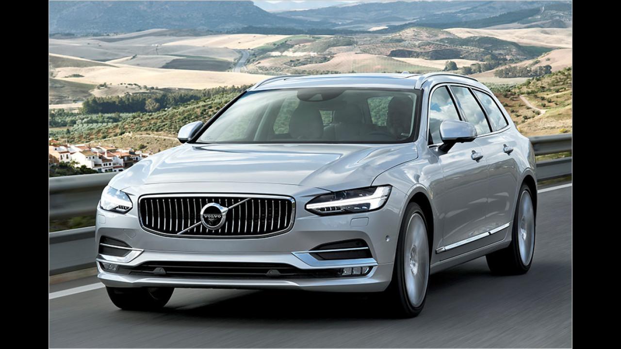 Auflösung: Der Volvo V90