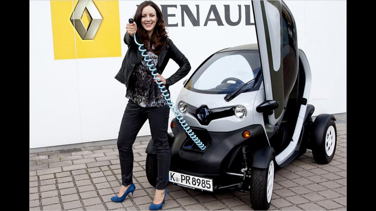 Jasmin Wagner: Renault Twizy