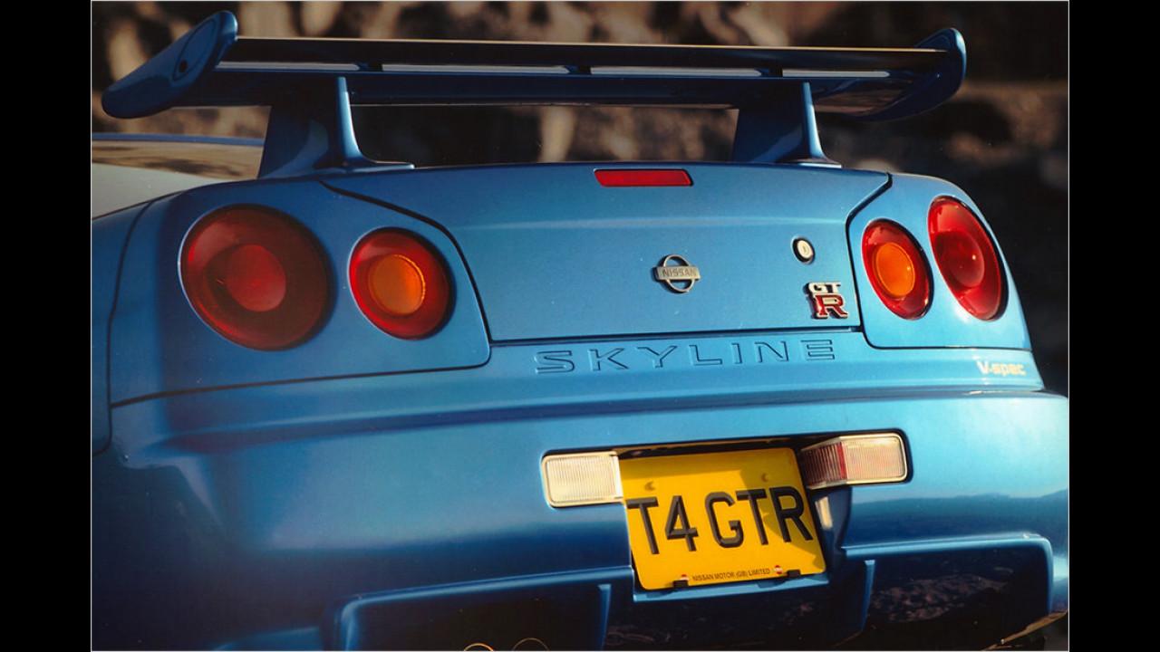 1999: Nissan Skyline GT-R R34