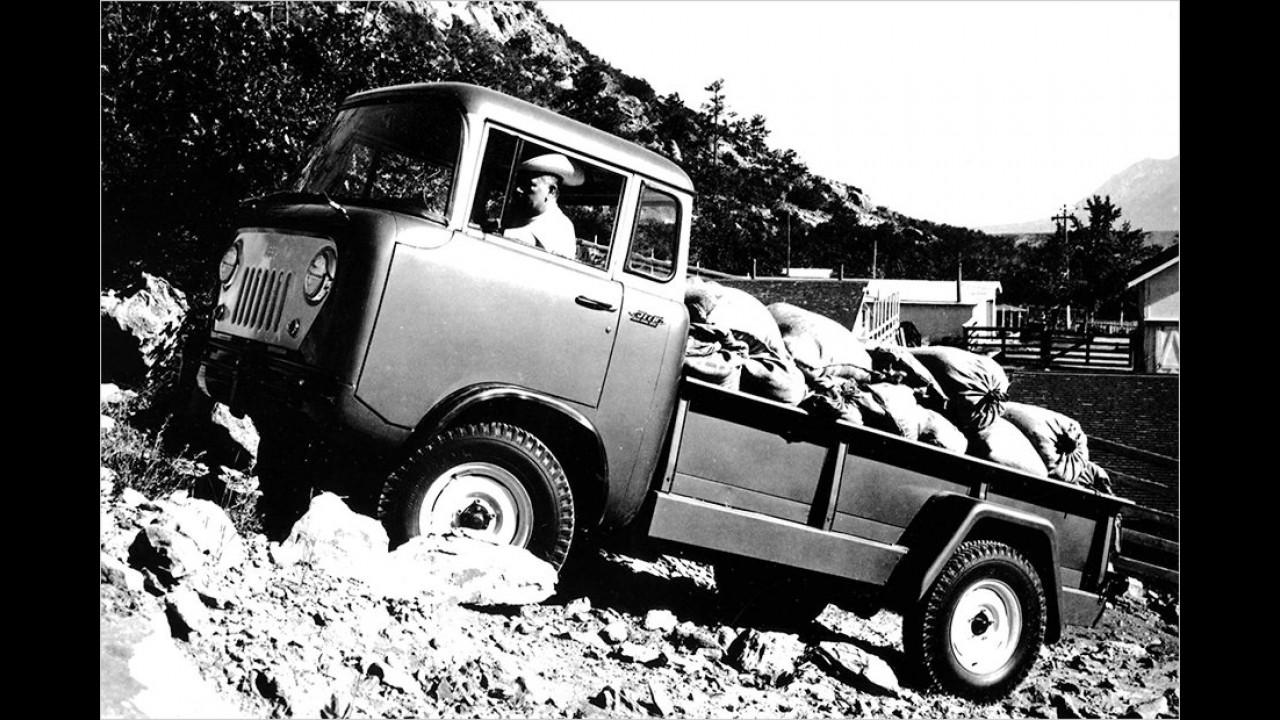 Jeep FC 150 / FC 170: 1957-1965