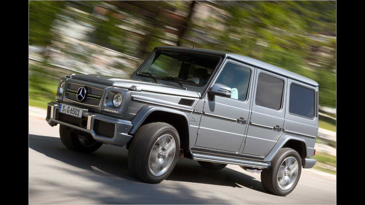 Mercedes G 65 AMG: 612 PS
