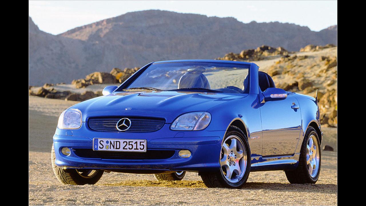Platz 8: Mercedes SLK (1996 – 2003)