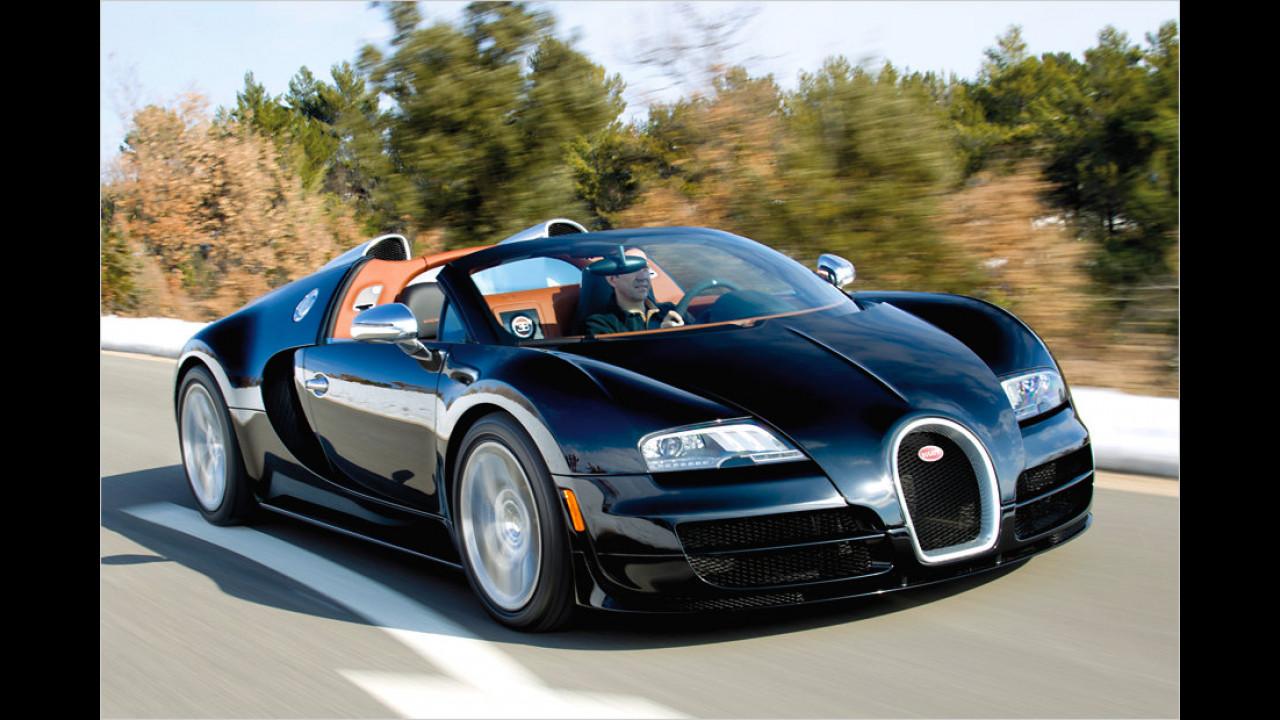 Bugatti Veyron Grand Sport Vitesse: 1.200 PS