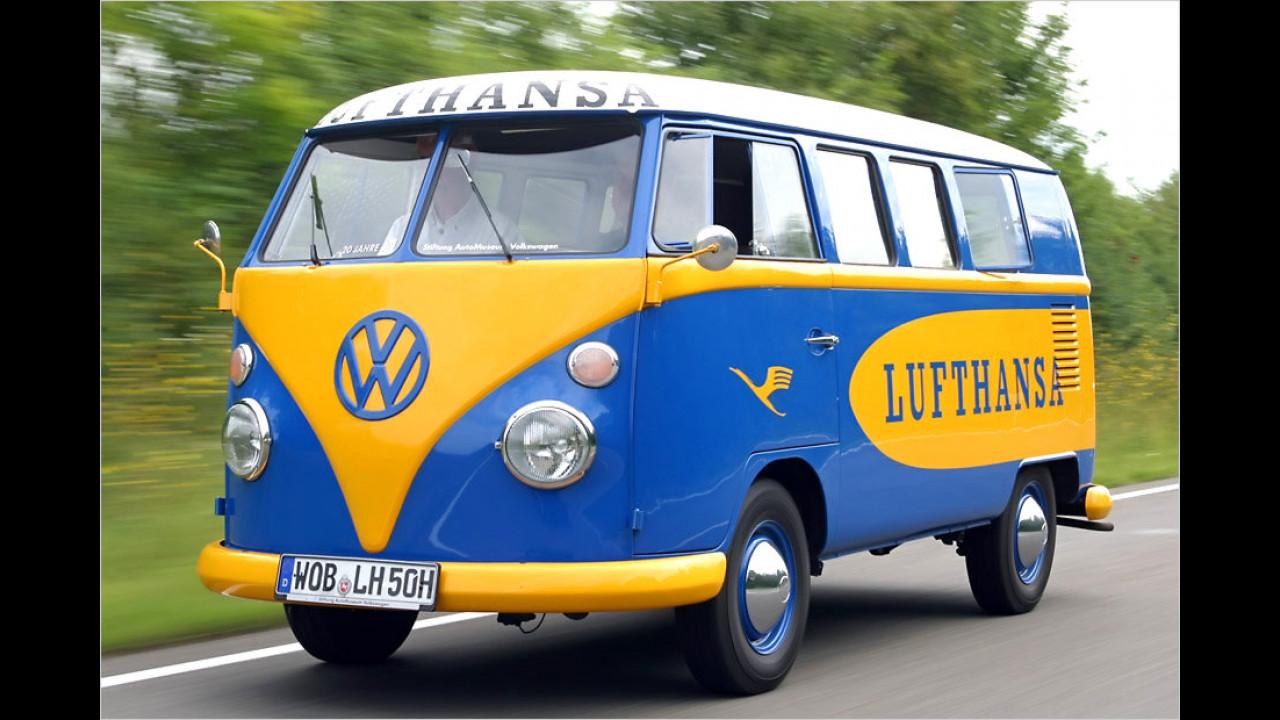 Platz 5: VW Bus und Transporter, 7.736 Fahrzeuge mit H-Kennzeichen