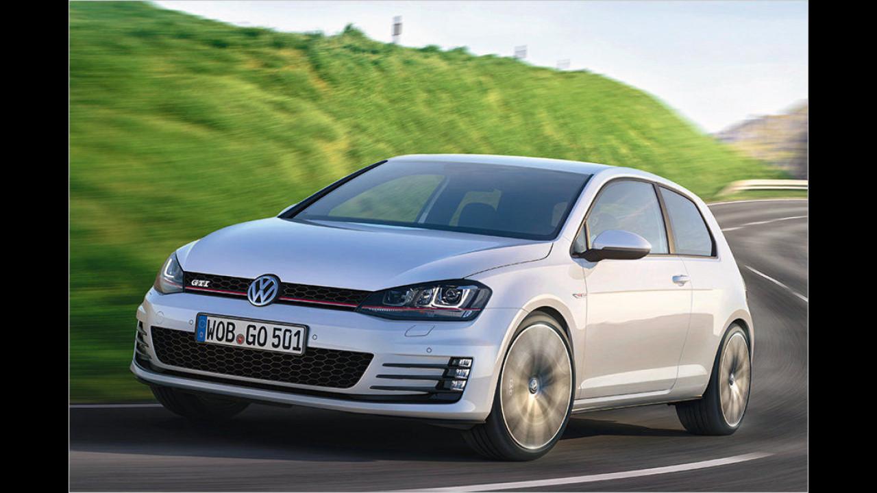 VW Golf GTI: 6,5 Sekunden