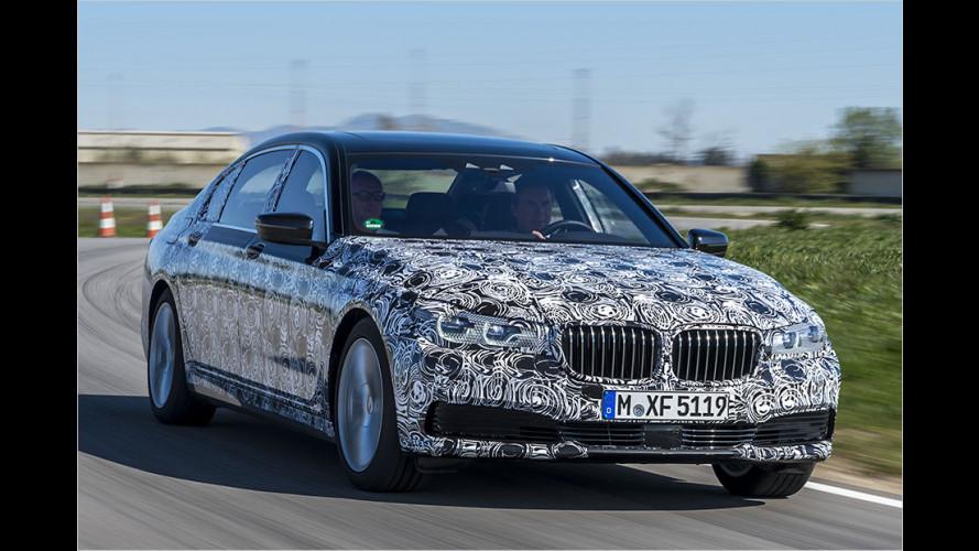 Neuer BMW 7er: Erste Fahrt im Carbon-Schlachtschiff