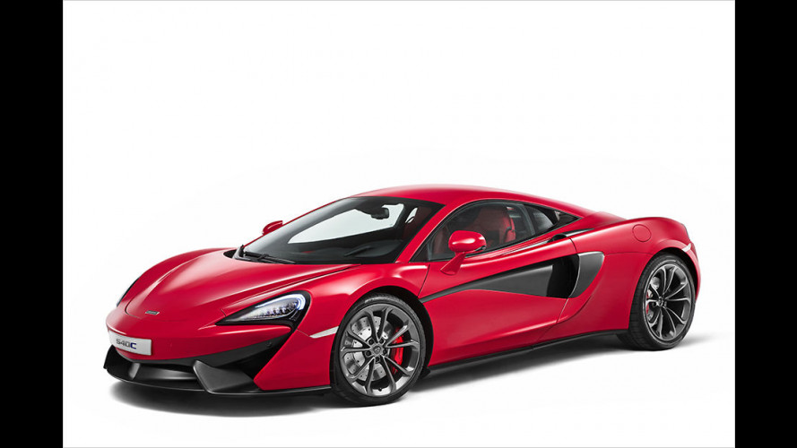 """McLaren zeigt neuen """"Basis-Sportler"""" 540C"""