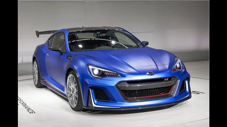 Subaru BRZ STI: Der BRZ, den alle wollen