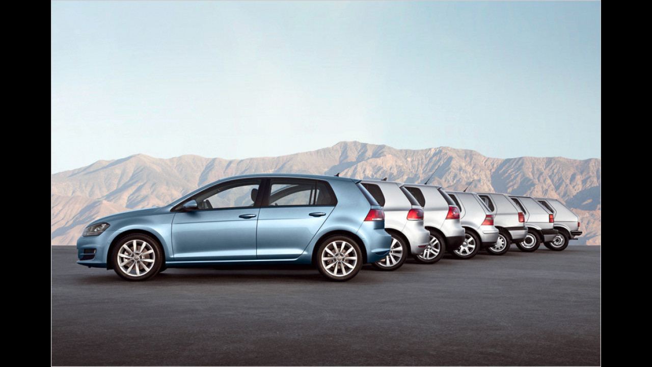 VW Golf: 30 Millionen (seit 1974)