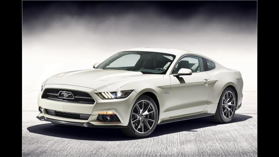 Super-Mustang zum Geburtstag