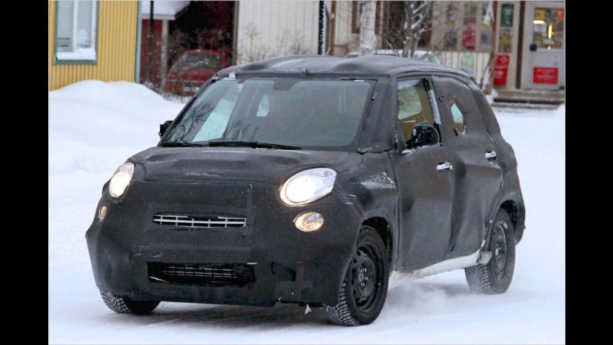 Langgezogener Fiat 500 als Mini-Van
