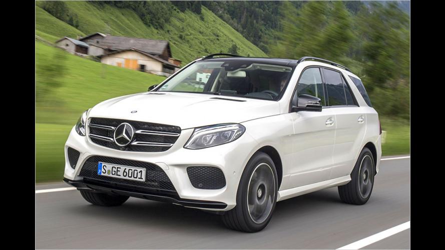 Mercedes GLE im ersten Test